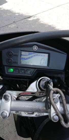 Hermosa Yamaha XTZ 250 modelo 2016