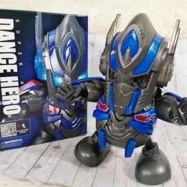 Robot Optimus Prime Baila Con Luces/sonido Dance Hero