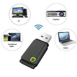 Usb Wifi Pc Laptop Internet Movil Adaptador Red Win 10 Table