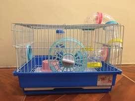 Vendo haula para hamsters Nueva