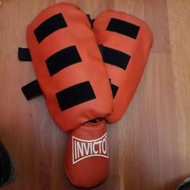 Tibiales + empeine MMA - Kick Boxing