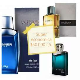 Vendo perfume magnat, dorsay, winner original sellado