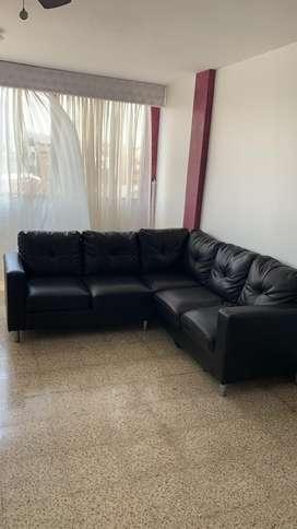 Sofa de cuerina