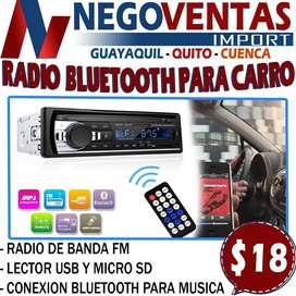 RADIO DE CARRO BLUETOOTH MAS CAMARA DE RETRO GRATIS