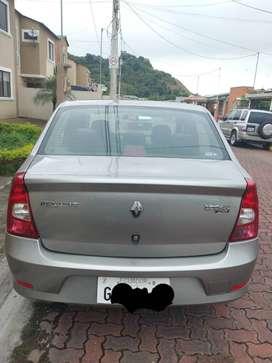 Vendo Renault Logan, semifull, 1.6, año 2012, tipo Sedan, en muy buen estado de conservación, un sólo dueño, A/C.