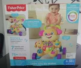 Caminador fisher price nuevo en la caja