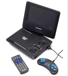 Reproductor De Dvd Portátil 7 Pulgadas Tdt Usb Control