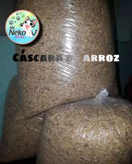 Cáscara de arroz