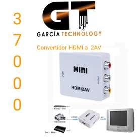 CONVERTIDOR  HDMI A 2AV