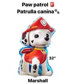 Vendo globo paw patrol individual Marshall