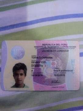 Estoy buscando empleo de chófer tengo licencia A2b con experiencia