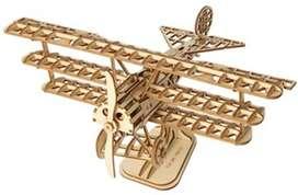 Rompecabezas en 3d de madera - Avioneta