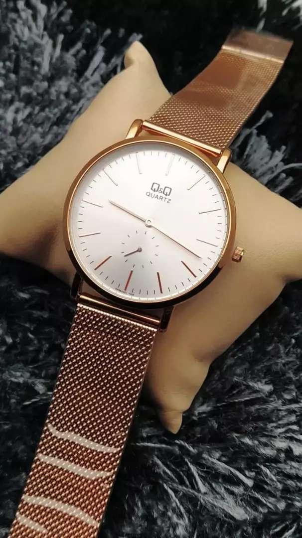 Reloj QyQ ORIGINAL sumergible para Hombre acero 0