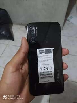 Xiaomi redmi note 8 NUEVO con días de uso