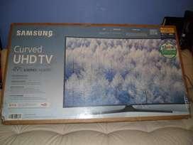 "Tv curvo 49"" samsung pantalla rota para repuestos"