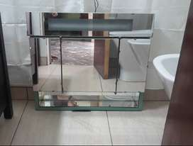 Botiquin para baño con espejo