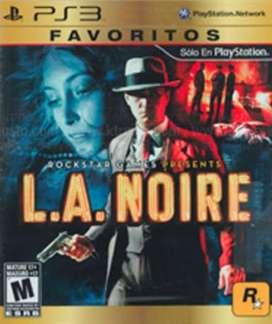 Playstation 3 L.a. Noire