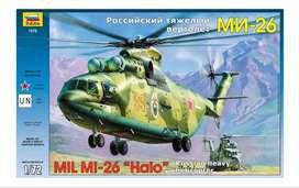1/72 Helicoptero Mi 26 Halo Avion Tanque Mirage Diecast