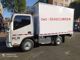 Camión refrigerado JAC JHR.