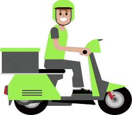 Se necesitan mensajeros con moto