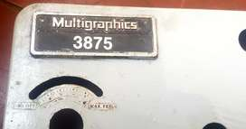 Imprenta Multigraphics 3875