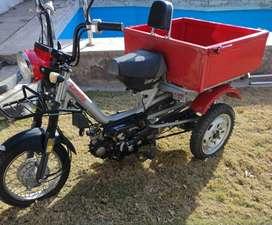 Vendo Zanella tricargo 110 cc