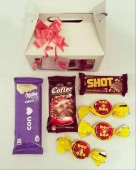 Mini cajita de chocolates