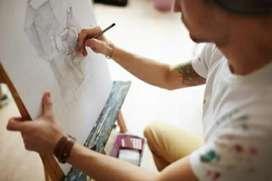 Dibujantes caricaturas, rostros y creación de logos