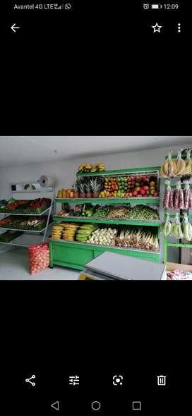 Mobiliario para fruver o negocio para fruver