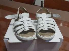 Sandalias Blancas Talle 29 1 Solo Uso