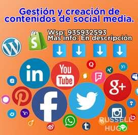 Creación y gestión de contenidos en redes sociales para empresas
