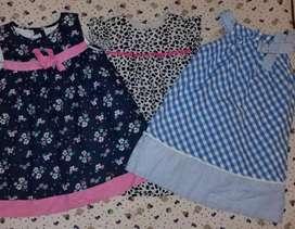 Lindo Pack x 3 vestidos en perfecto estado