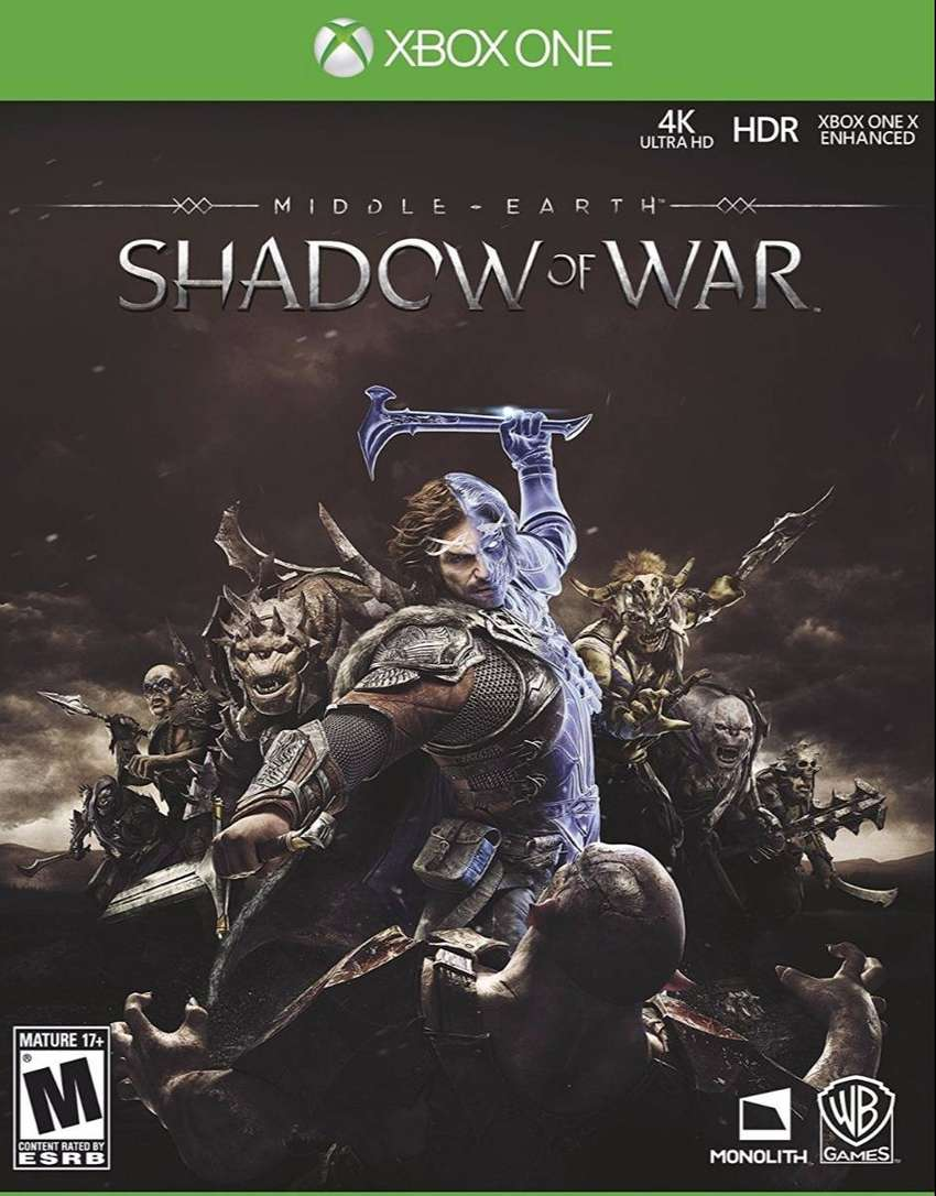 Middle Earth: Shadow Of War Xbox One, Físico