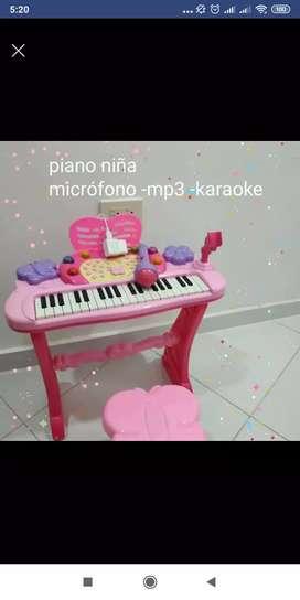 Piano con microfono