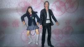 CAMBIO Figura De Accion Bill Y Go Go (kill Bill) Neca 2005 Miramax