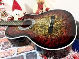 Guitarras acusticas en cedro