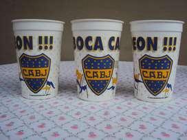 Vasos de Coleccion Boca Junior precio por unidad