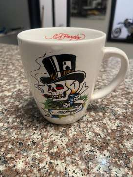 Ed Hardy Death Or Glory Tattoo Coffee Mug Cup