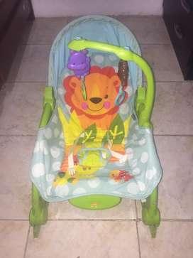 Vendo silla para bebe vibradora