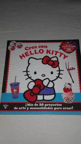 VENDO LIBRO DE PROYECTOS DE MANUALIDADES DE HELLO KITTY