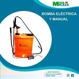 Bomba eléctrica y manual 20 LT