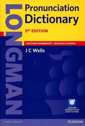 Longman Pronunciation Dictionary With Cd Wells Nuevo Original