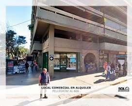 Local comercial en Alquiler, Pellegrini al 800.