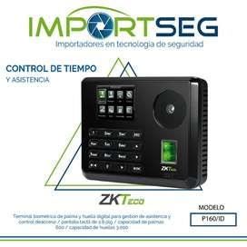 Reloj Biométrico Asistencia Acceso Palma Huella P160/i
