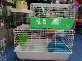 Jaulas para conejos, erizos