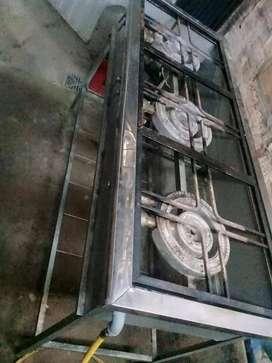 vendo estufa hidraulica de 3 fogones valor  300