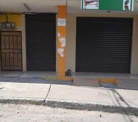 2 LOCALES COMERCIALES ESMERALDAS ARRIENDO