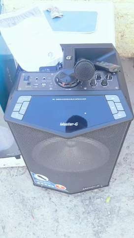 "Bafle activo karaoke 12"""