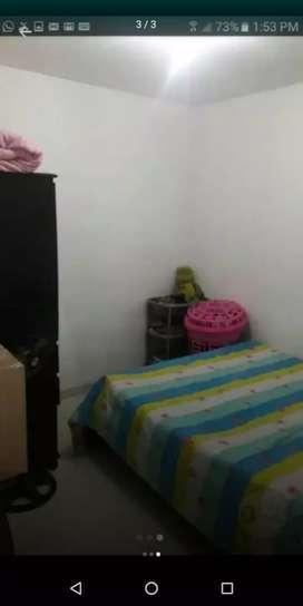 Cupo universitario - se arrienda  habitación amueblada com todos los servicios wi-fi, cocina, lavadora, baño.