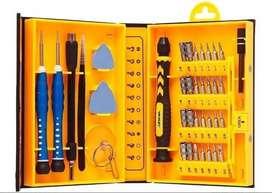 Kit Destornilladores Precisión iPhone Yaxun Original 37 En 1